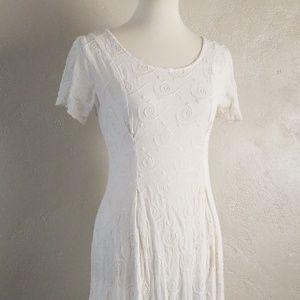 Vintage Beth Schaeffer Embroidered Dress Baby Doll